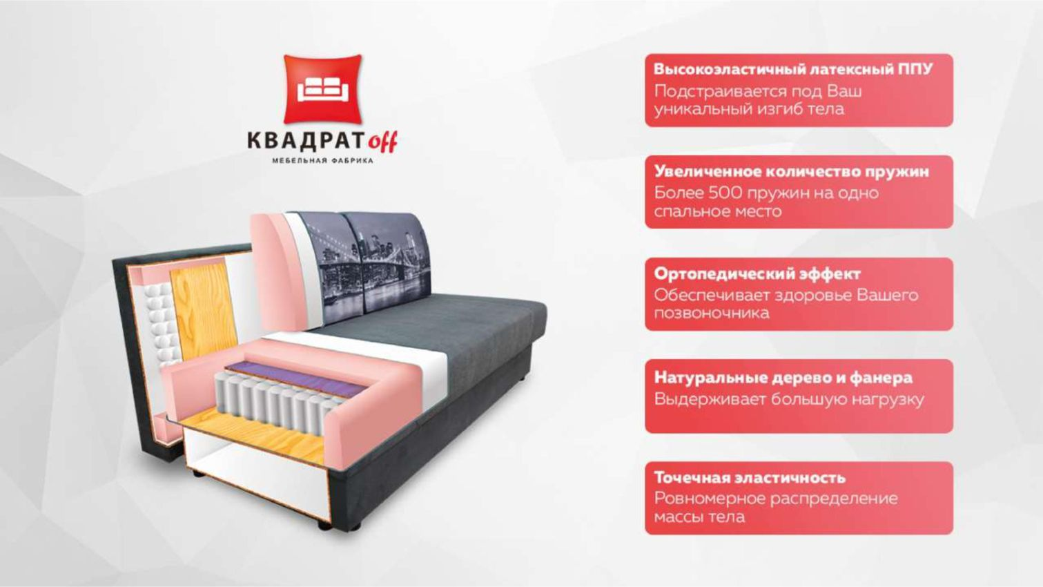 Каталог фабрики Квадратофф