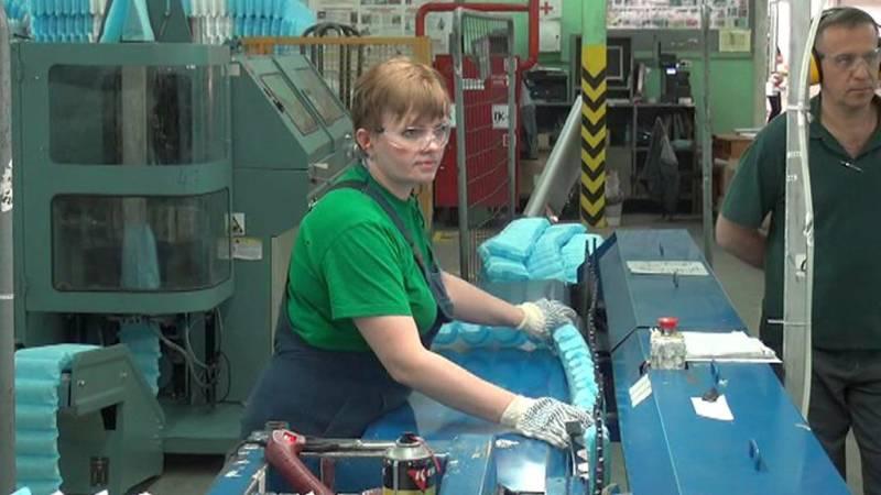 Фото фабрики Askona