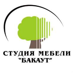 Логотип студии мебели «Бакаут»