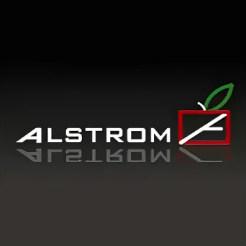 Логотип фабрики «Алстром»