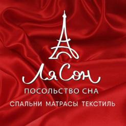 Логотип фабрики «ЛяСон»