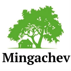 Логотип фабрики «Mingachev»
