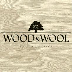 Логотип фабрики «Wood & Wool»