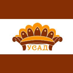 Логотип фабрики «Усад»