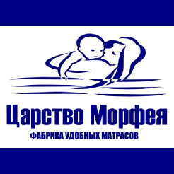 Логотип фабрики «Царство морфея»