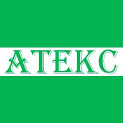 Логотип фабрики «Атекс»