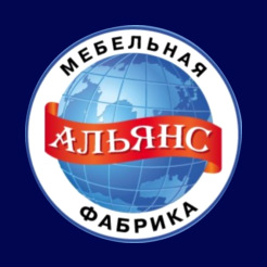 Логотип фабрики «Альянс»
