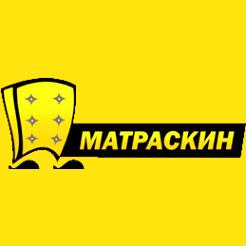Логотип фабрики «Матраскин»