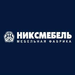 Логотип фабрики «Никсмебель»