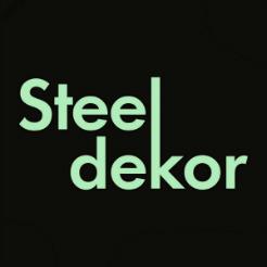 Логотип мастерской «Steel Dekor»