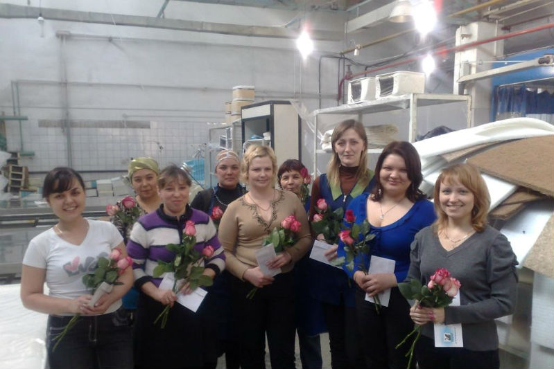 Фото фабрики «Матраскин»