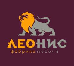 Логотип мебельной фабрики Леонис