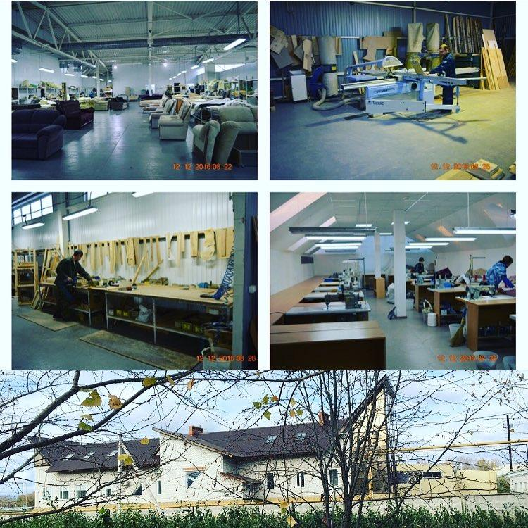 Фотографии цехов фабрики Салеж