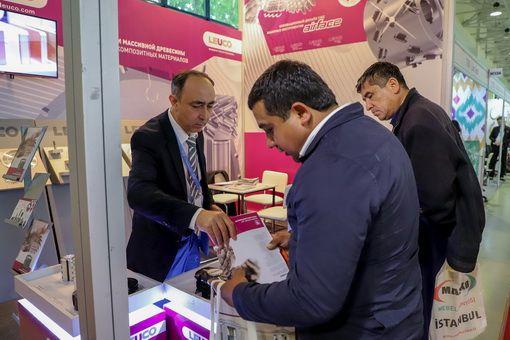 Фото с выставки «MebelExpo Uzbekistan»