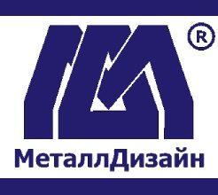 Логотип завода «МеталлДизайн»