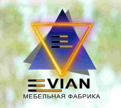 Логотип фабрики «Evian Mebel»