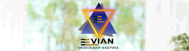 Баннер фабрики «Evian Mebel»