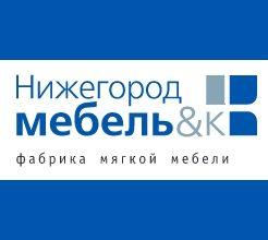 Логотип фабрики «Нижегородмебель и К»